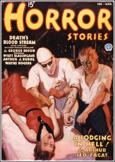 Nerdcore › Dime Mystery and Horror Stories-Pulp Covers
