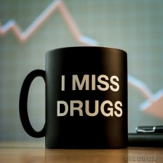 I Miss Drugs Mug - buy at Firebox.com