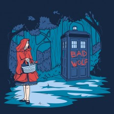 Illustrations of Disney Princesses Meeting the Doctor in the TARDIS