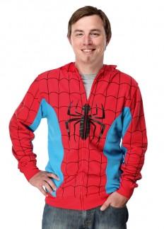 ThinkGeek :: Spider-man Costume Hoodie