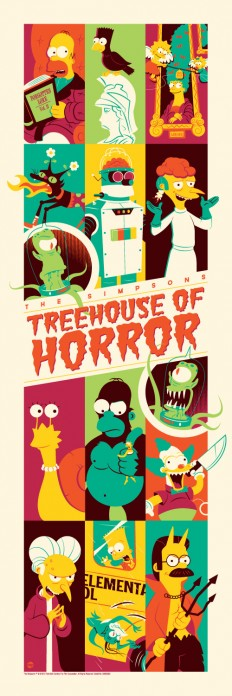 Halloween Exclusive: New Poster For 'The Simpsons: Treehouse of Horror' | /Film