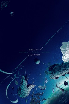 Mondo's GRAVITY Poster by Kevin Tong - PewPewPew