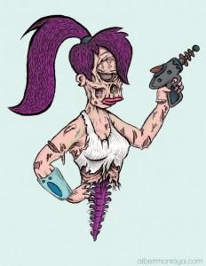 Leela Zombie - Albert F. Montoya