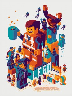 Tom Whalen's LEGO MOVIE Print is completely awesome - PewPewPew