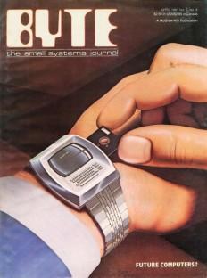 So hat man sich 1981 die Zukunft der Computer ausgemalt - als Smartwatch mit Floppy-Disk