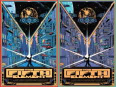 KILIAN ENG / DW DESIGN: Private commissioned The Fifth Element prints....