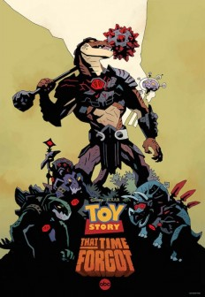Toy Story That Time Forgot Comic-Con Poster By Mike Mignola - /Film
