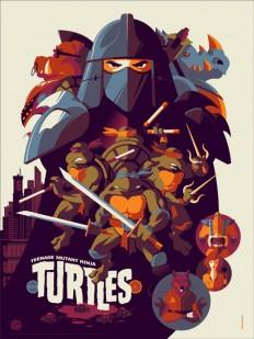 Mondos Ninja Turtles Poster sind besser als der Film - PewPewPew
