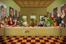 The 80's Last Supper - Bill McConkey - Freelance Illustrator
