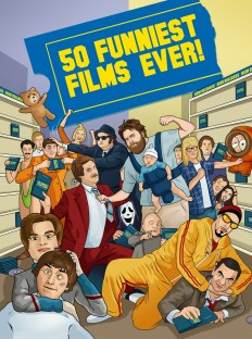 Fifty Funniest Films Ever! - Bill McConkey - Freelance Illustrator
