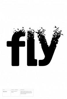 Blackbird – Bird Type Manipulation of Soolidium Font on Inspirationde