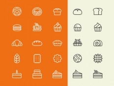 Free Bakery Vector Icons - Free Download | Freebiesjedi