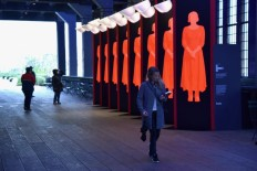 WORK: Pentagram's public art installation for The Handmaid's Tale - Creative Review