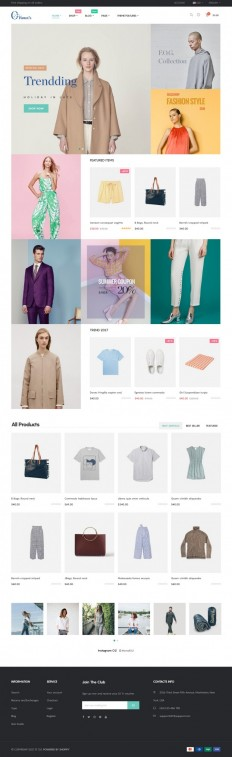 O2 Fashion Store on Inspirationde