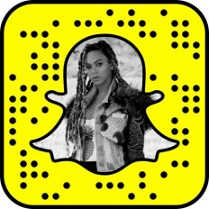What is Beyoncé's Snapchat Name?