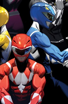 Power Rangers cover on