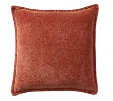 Chenille Jacquard Pillow Cover | Pottery Barn
