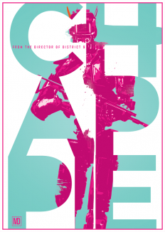 Poster design for Chappie on Inspirationde