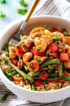 20 Minute Honey Balsamic Tuna Veggie Bowls - Carlsbad Cravings