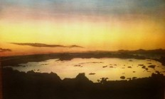 Hawaii Sun Set Acrylic by KATastrophicVII on DeviantArt