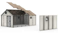 Here's What Flatpack Refugee Shelters Look Like, and How They Are Assembled - Core77