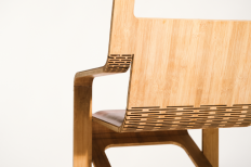 Aviator Chair: A Flat Folding Leather Chair Made Using No Joinery - Core77