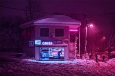 Photographer Elsa Bleda Captures Istanbul In Neon Colors, Foggy And Cinematic Nightscapes