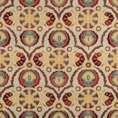 Swavelle / Mill Creek Kitsune Red Fabric | OnlineFabricStore.net