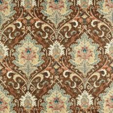 Covington Karma Wild Turkey Fabric | OnlineFabricStore.net