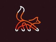 Fox Logo design on Inspirationde