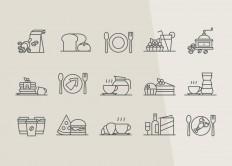 Restaurant & Coffee Icons