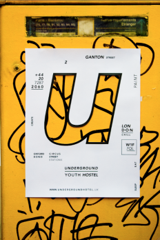 Underground Youth Hostel Identity by Laura Beretti on Inspirationde