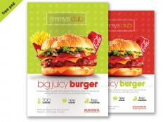 Burger Flyer Template - Free Download | Freebiesjedi