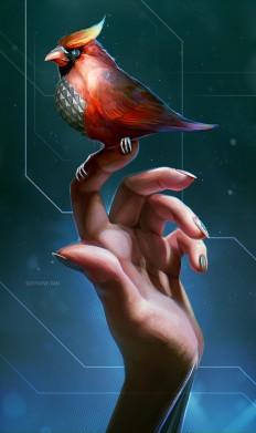 Robo Bird by Dandelion-s