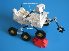 Mars Rover Rocker-Bogie Differential