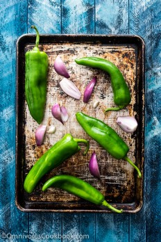 Thai-Style Grilled Chile Salsa (Nam Prik Num) | Omnivore's Cookbook