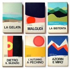 Book design, Mario Delgrada, 1970s, colour, illustration, book cover in Book covers