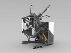 Diplomarbeit: Entwurf einer mobilen Werkzeugmaschine zur spanenden Bearbeitung von Großwerkstücken | Blog Technisches Design