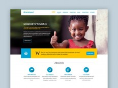 Graceland : Free Charity PSD Web Template - Free Download | Freebiesjedi