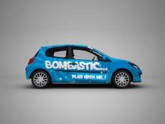 Hatchback Car Mockup - Free Download   Freebiesjedi