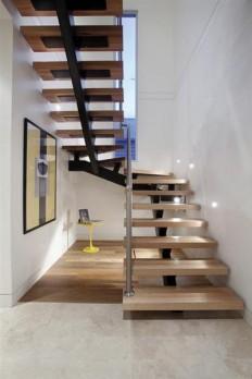 Floating Stair Design on Inspirationde