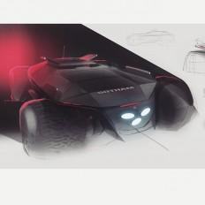"Balázs Filczer on Instagram: ""Gotham city SUV. #automotivedesign #designsketches #design #designsketch #cardesigncommunity#cardesign #carsketch…"""