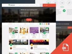 Duhoot : Travel PSD Web Template - Free Download | Freebiesjedi