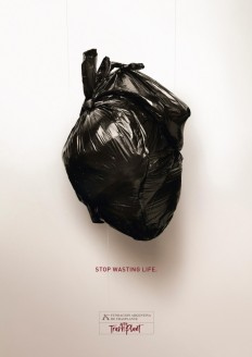 FATH Print Advert By DDB: Heart on Inspirationde