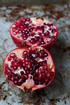 Whipped Goat Cheese with Honey and Pomegranates - Cooking for Keeps