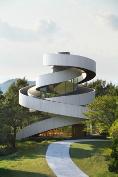 Ribbon Chapel - Onomichi, Japan [1680x2520] : ArchitecturePorn