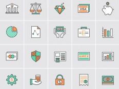 Banking Icon Set - Free Download | Freebiesjedi