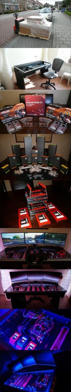 Gaming Desk on Inspirationde