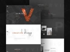 Vanzer : Free Elegant Portfolio Website - Free Download | Freebiesjedi