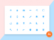 Mini Material Icon Set - Free Download | Freebiesjedi